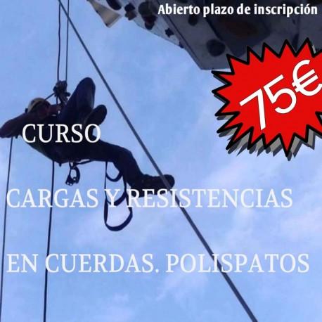 Curso de Cargas y Resistencias en Cuerdas. Polispatos